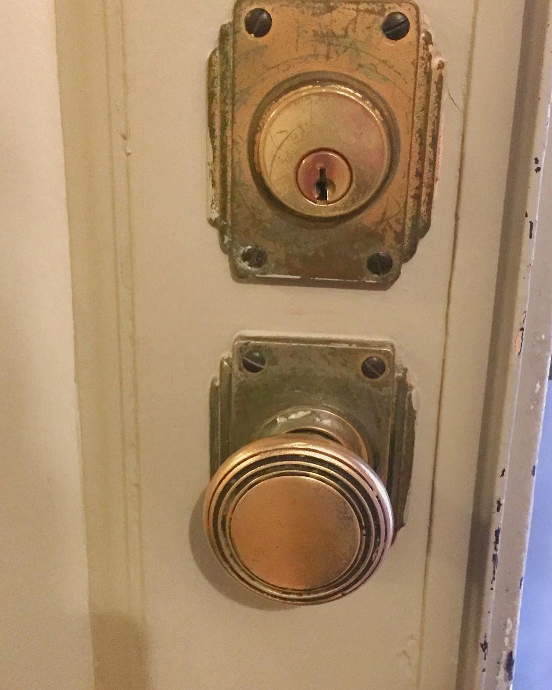Antique 1920 S Doorknob