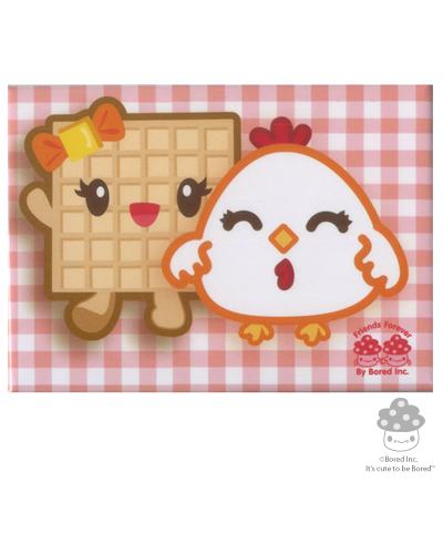 Bored Inc. - Chicken & Waffle Magnet