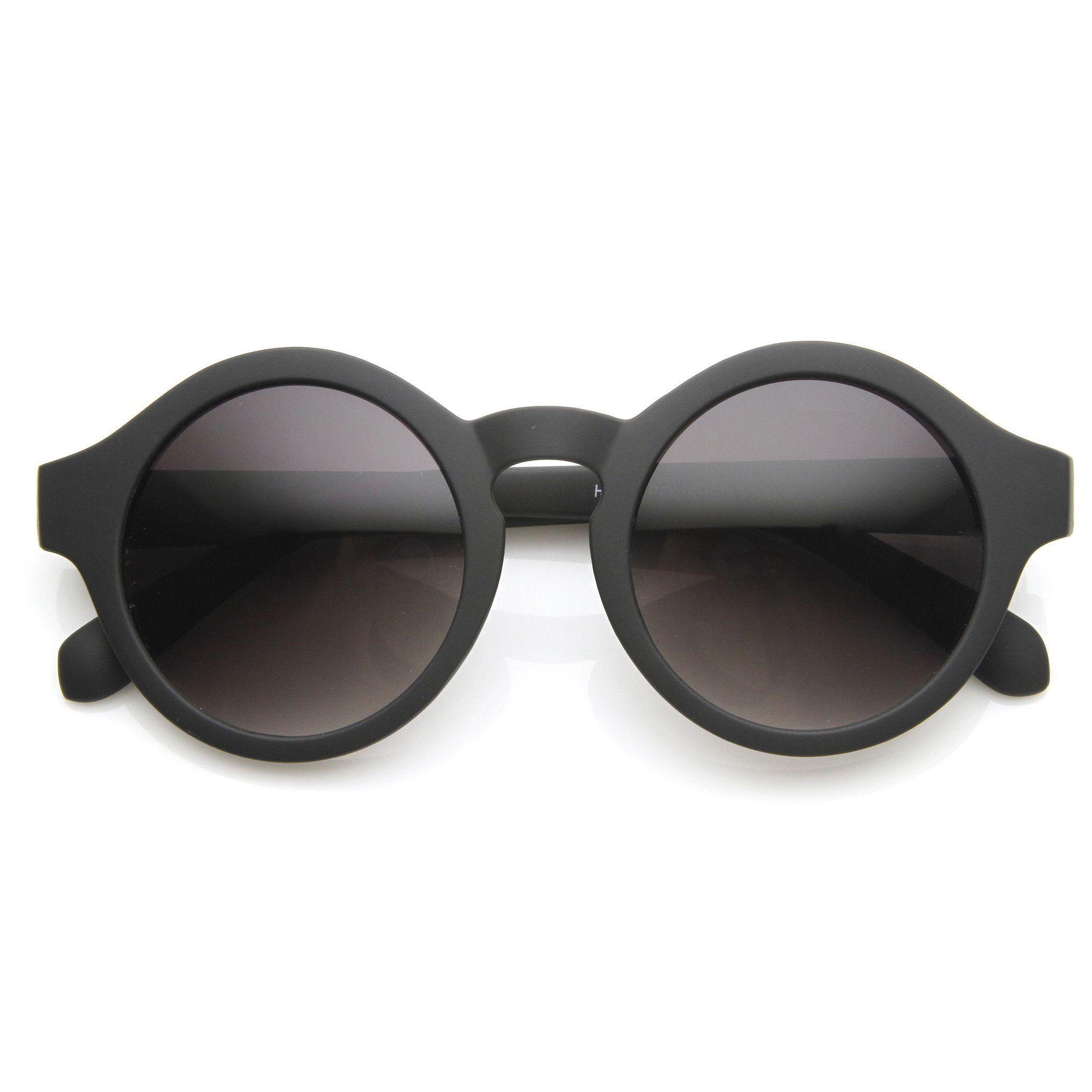 Classic Retro Keyhole Round P3 Frame Sunglasses 9196 | Mode, Oakley ...