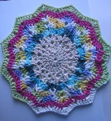 Round Ripple Crochet Pillow Pattern 4k Pictures 4k Pictures