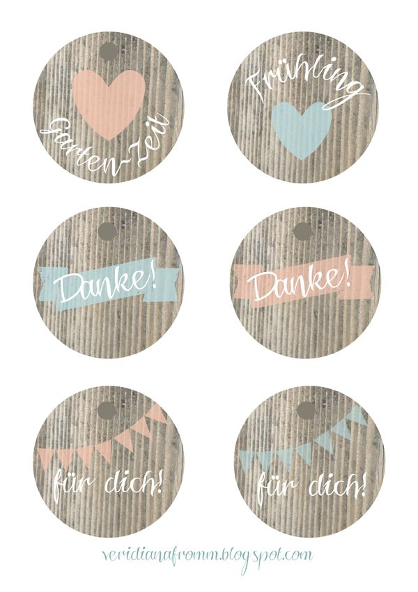 Runde Etiketten for free! | Tags & Labels – Printables | Pinterest ...