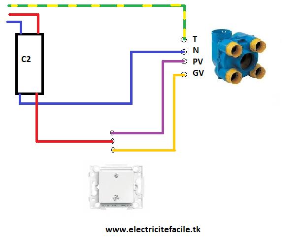 Schema Installation Electrique Vmc Simple Flux Installation Vmc Branchement Vmc Schéma électrique