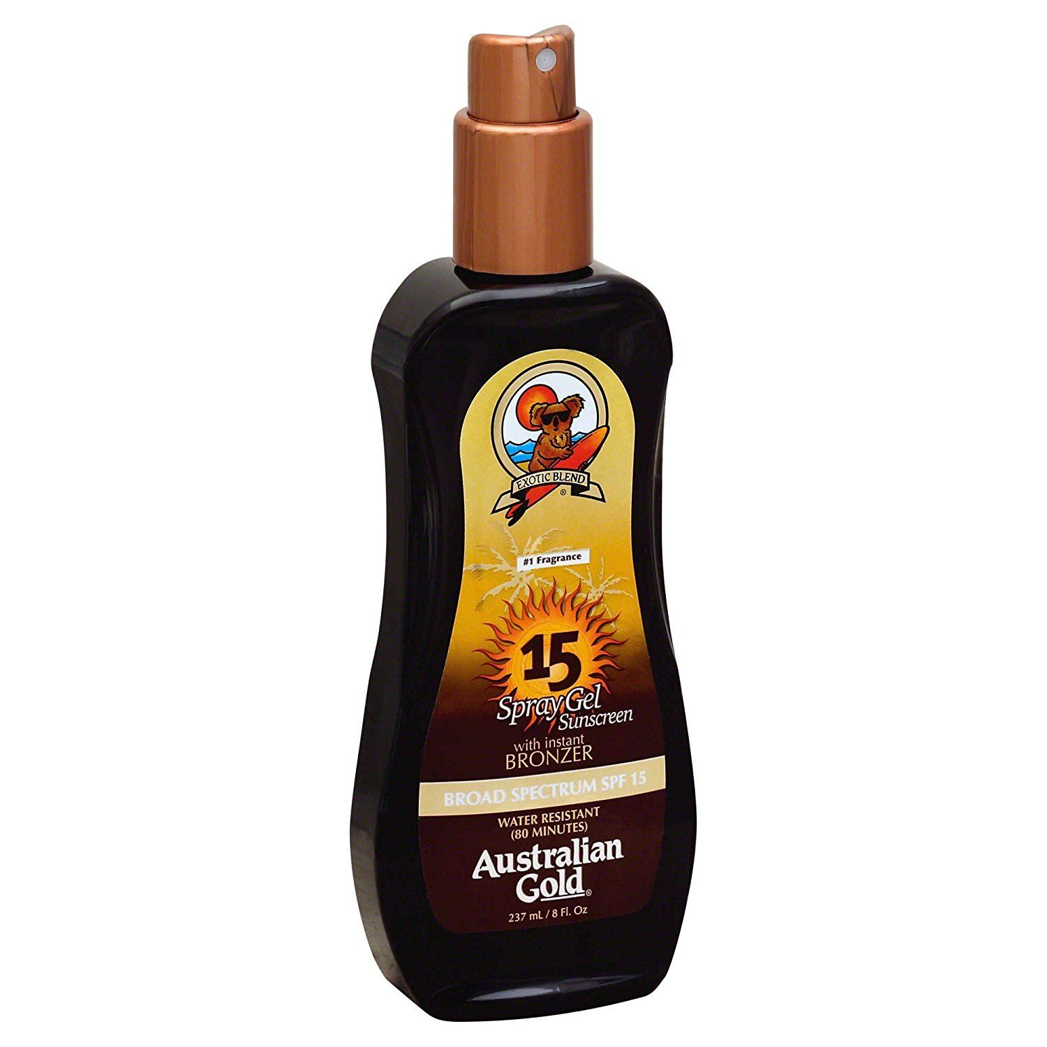Australian Gold® 8 oz. Spray Gel with Instant Bronzer SPF