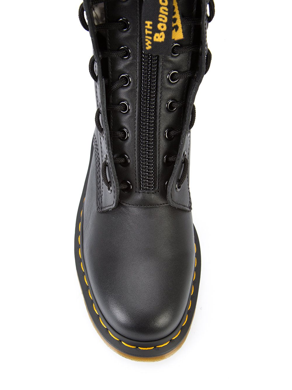 great look reputable site cheaper Yohji Yamamoto Dr. Martens Front Zip Boots | Dr. martens, De frente