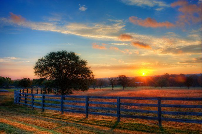 Beautiful Sunrise Morning Landscape Free Image Download High Resolution Wallpaper Texas Hill Country Beautiful Sunrise Hill Country