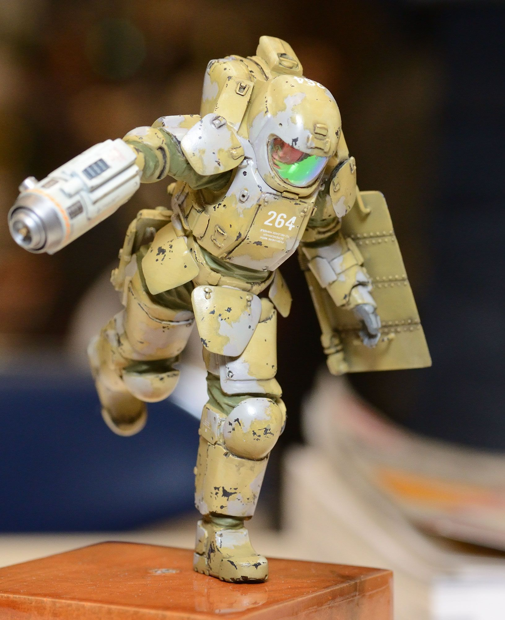 Maschinen Krieger - 1/20-scale AFNS suit by Honemits Products | Ma K