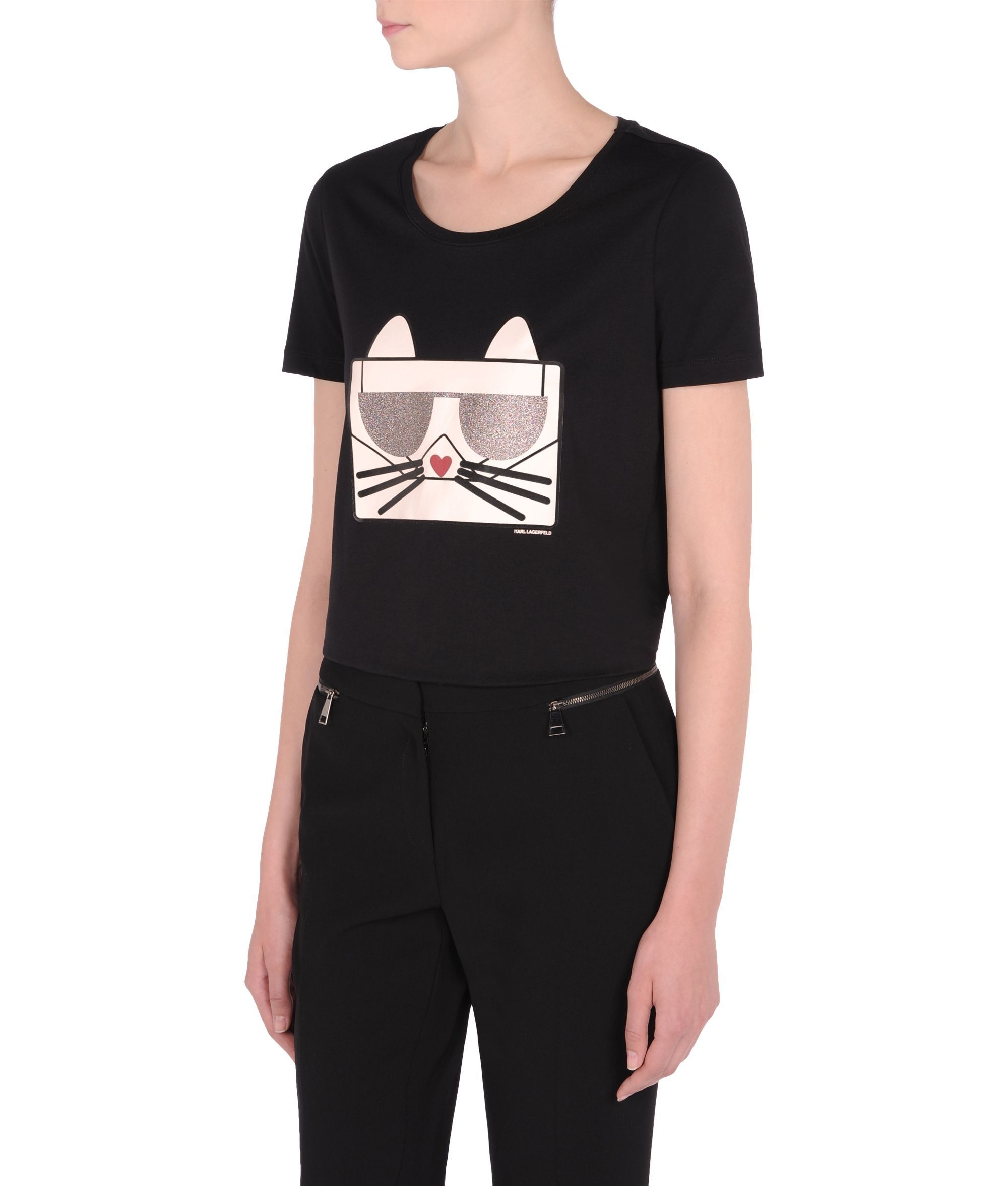 T Shirt Kocktail Choupette - Karl Lagerfeld