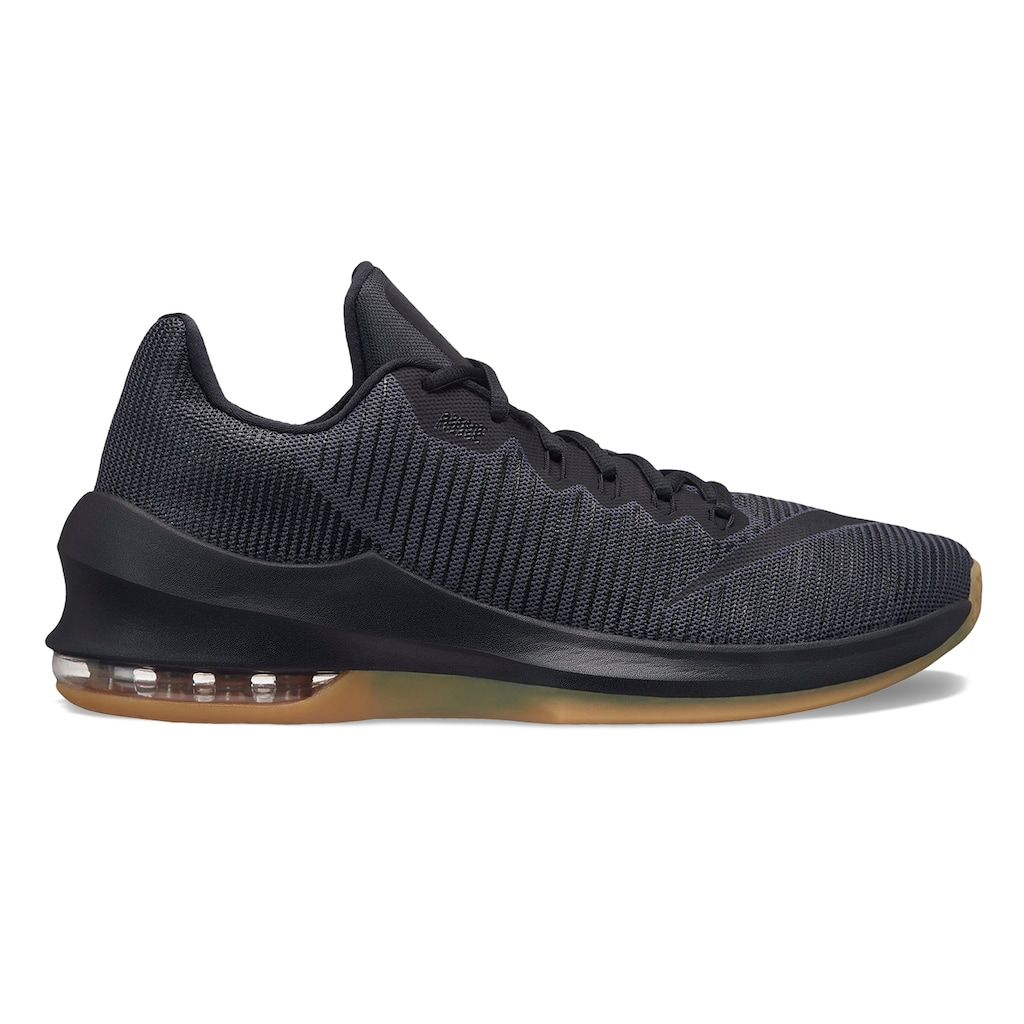 finest selection 4c1c3 b10f4 Nike Air Max Infuriate 2 Low Men s Basketball Shoes, Size  10.5, Grey  (Charcoal)