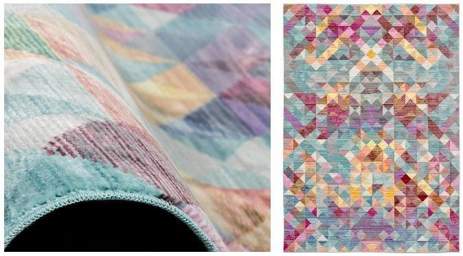 Schoner Wohnen Teppich Shining Mit Patchworkmuster Teppich Tapeten Fototapete