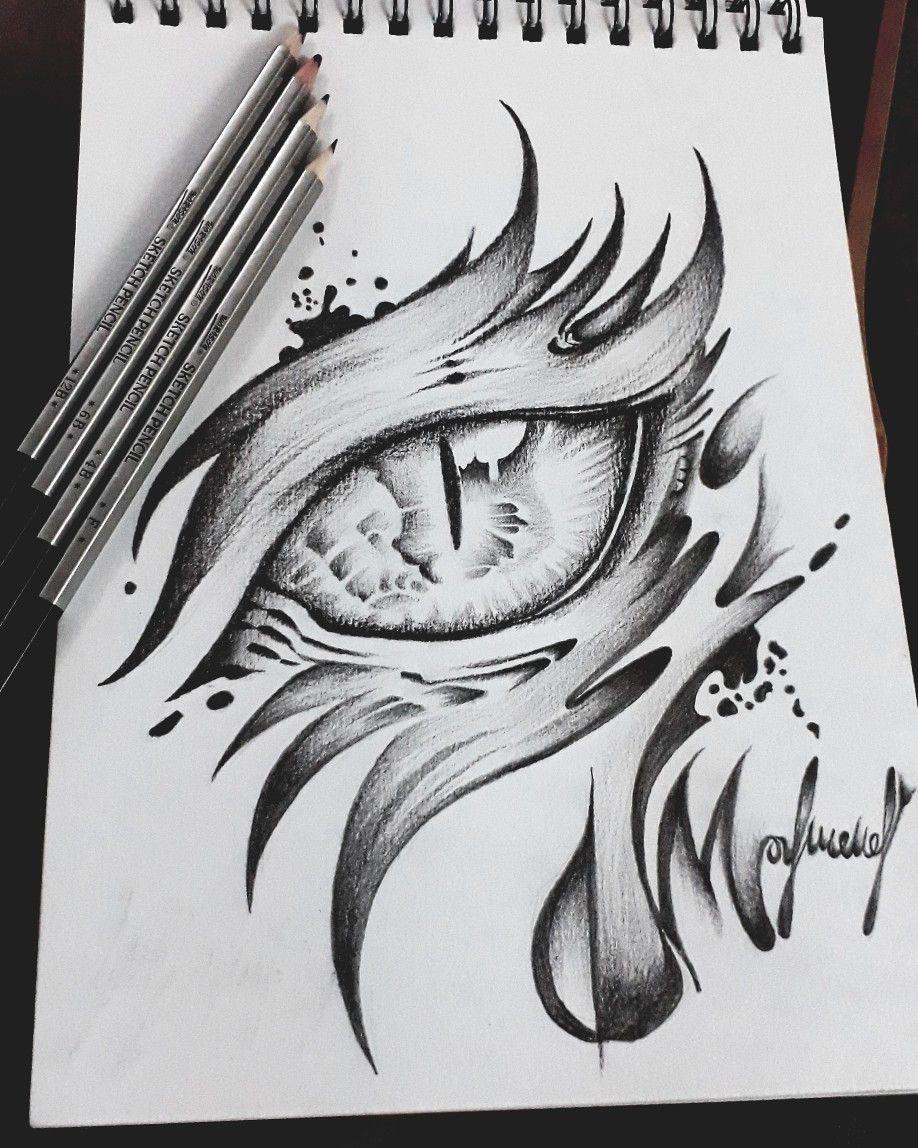 Pin by Mahmoud Badarneh on art eye Dragon eye drawing