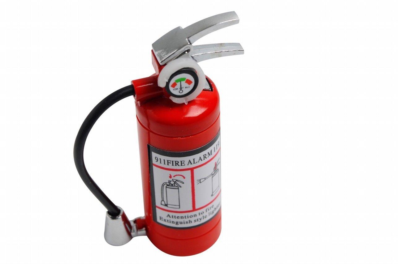 Isqueiro Extintor de Incêndio - 2,5 x 2,5 x 8 cm