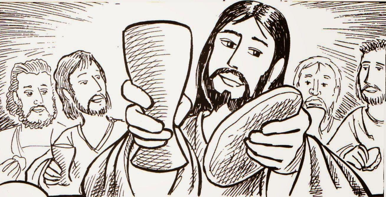 Jueves Santo. Última Cena y Eucaristía | Dibujos | Pinterest | Bible ...