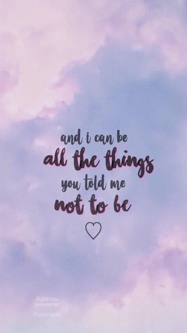 God Is A Woman Ariana Grande Lyrics Bio Quotes Song Lyrics Wallpaper