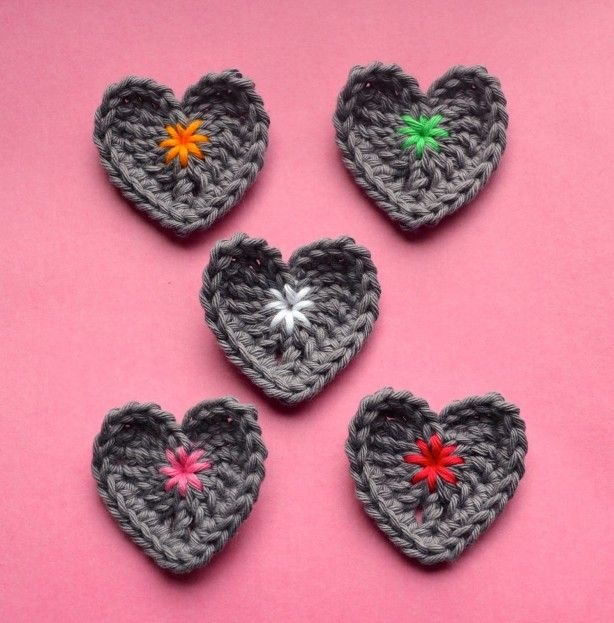 Love these hearts! Including patern   VALENTINES - MAKE FOR DANCE ...