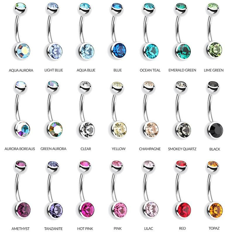 Petite Ball Classique Belly Bars In 2019 Piercings Belly Button
