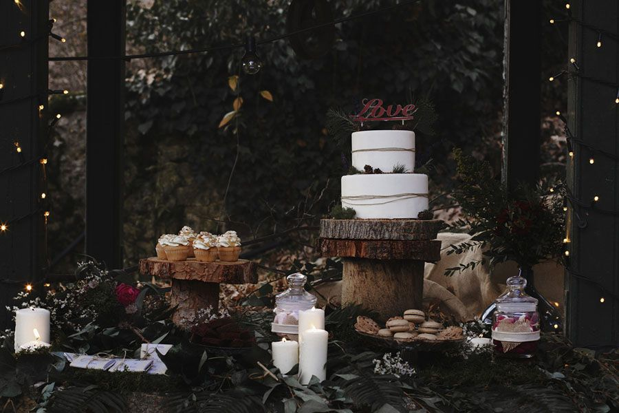 Boda botánica Nordic & Mediterranean. Una historia de amor real con una boda ficticia. Es como si Irantzu y Jonas estuvieran practicando para su gran día.