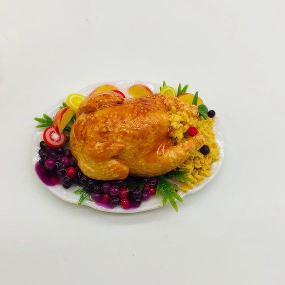 Miniature Turkey, Miniature Food, Thanksgiving Food