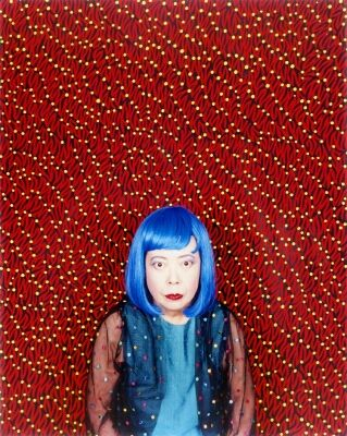Yayoi Kusama, perhaps the only person alive who loves polka dots more than I do.