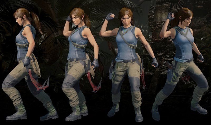 Shadow Of The Tomb Raider Gear Guide And Tank Top Pattern Revealed