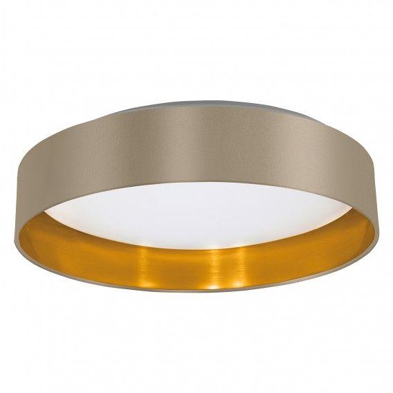 LED-Deckenleuchte Maserlo IV - Webstoff   Kunststoff home24 - deckenlampen für schlafzimmer
