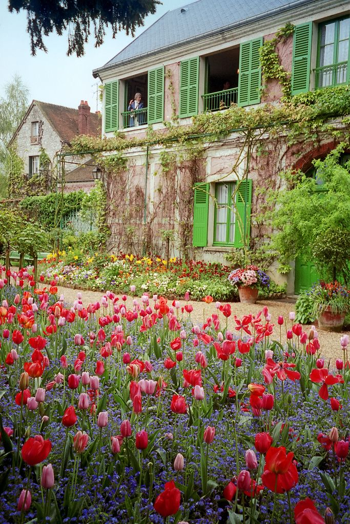 Monet's gardens at Giverny (photo by Dale Musselman via Flickr) is just one of the best day trips you can take when in Paris. Check out the rest of the places in this list: https://www.talkinfrench.com/best-day-trips-paris/ Travel in France with confidence when you grab a copy of the MOST COMPLETE French travel phrasebook available.Get it here: https://store.talkinfrench.com/product/french-phrasebook/