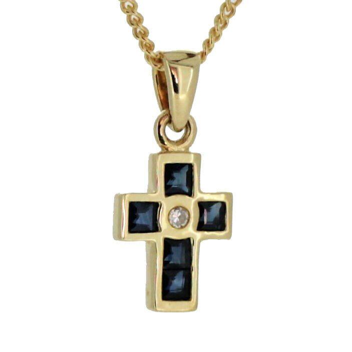 Ebay Sponsored Kinder Taufe Kommunion Firmung Kreuz 6 Safir