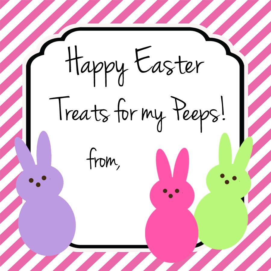 Easter tags easter gift tags easter treat tags easter