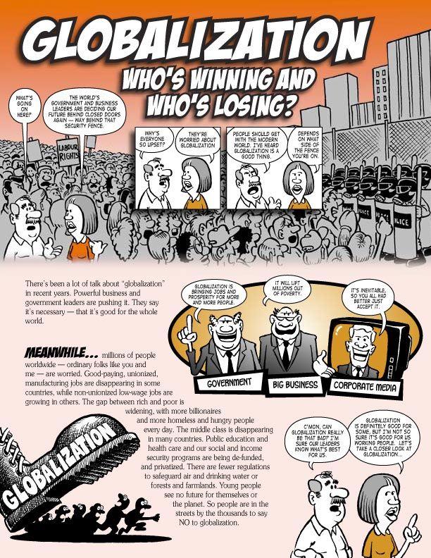 0010 Globalisation explanation in cartoon formation