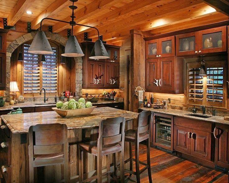 Decoración de Cocinas Rusticas Muebles de Cocina Casas Rústicas