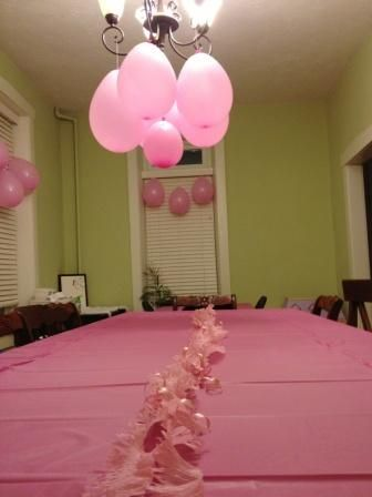 Cheap Easy Birthday Decorations 5 for a Pink Party Pink