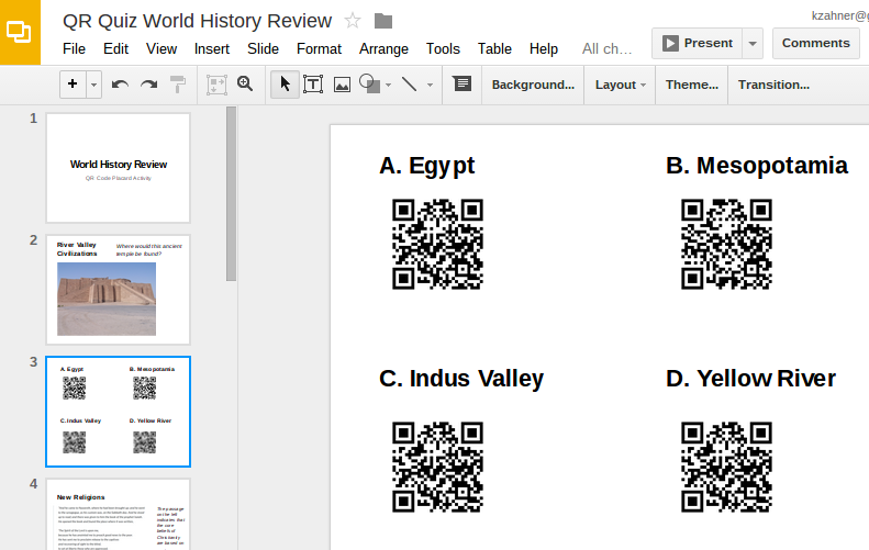 Instructional Fluency: 5 Steps to Make Quizzes with QR