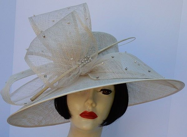 Items similar to Women's Brown Derby Church Christmas Hat ...  |Christmas Derby Hats