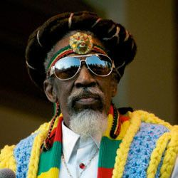 Bunny Wailer....One of the members of the Wailers and the only living member that is...