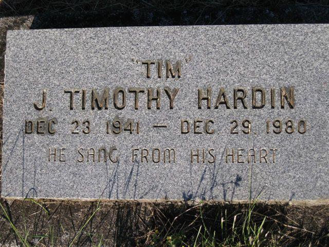 Timothy Tim Hardin Folksinger Songwriter He Is Probably Best