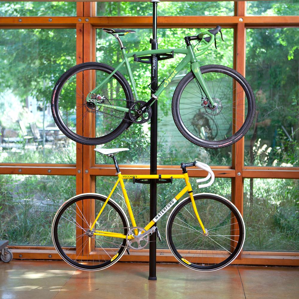 Velo Column Bike Stand Black In 2020 Bike Storage Rack