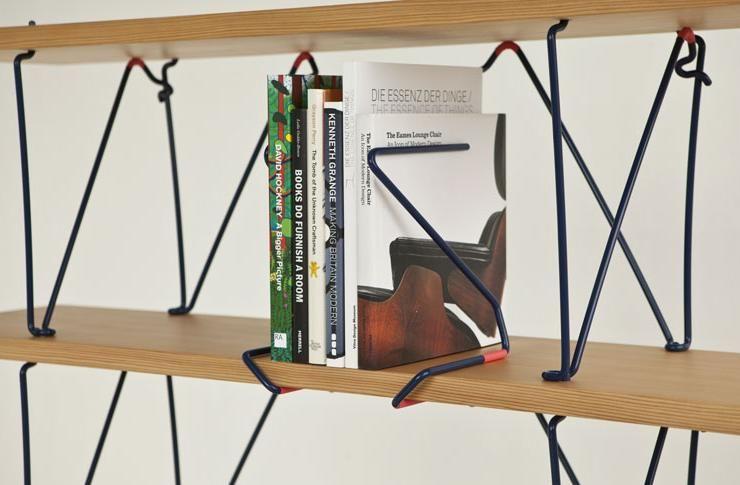 Une étagère Design Entre Le Bois Et Le Métal Objets De Désirs