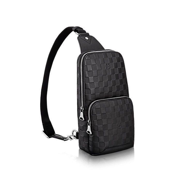 8a75dc874 Avenue Sling Bag Piel Damier Infini Hombre Bolsos para Hombre   LOUIS  VUITTON