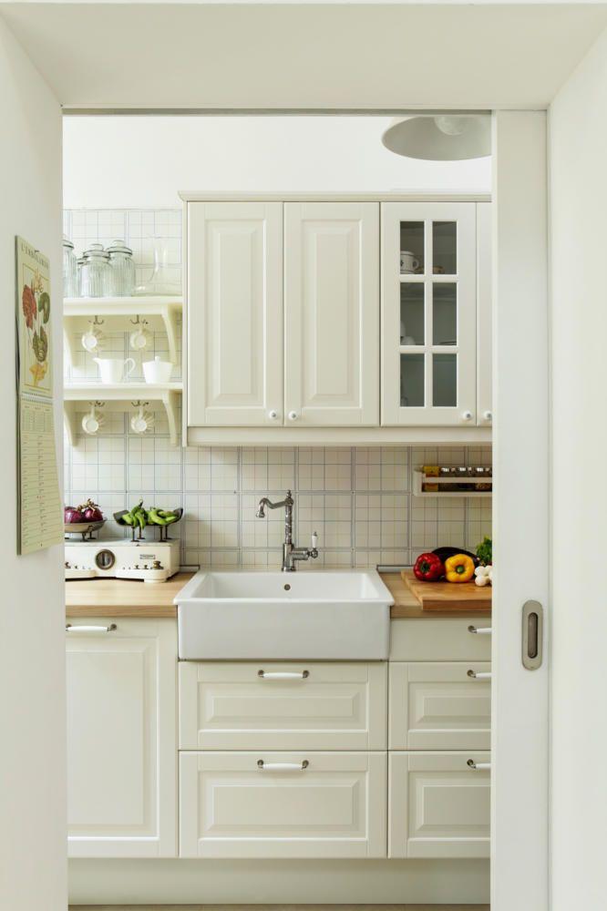 Landhausküchen weiss modern ikea  landhausküche weiß - Google-Suche | küche :-) | Pinterest ...
