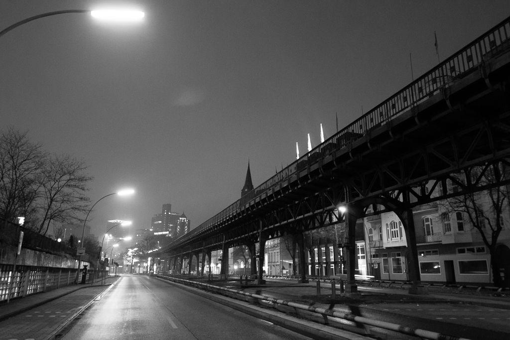 nachts in Hamburg Hamburg, Umgebung