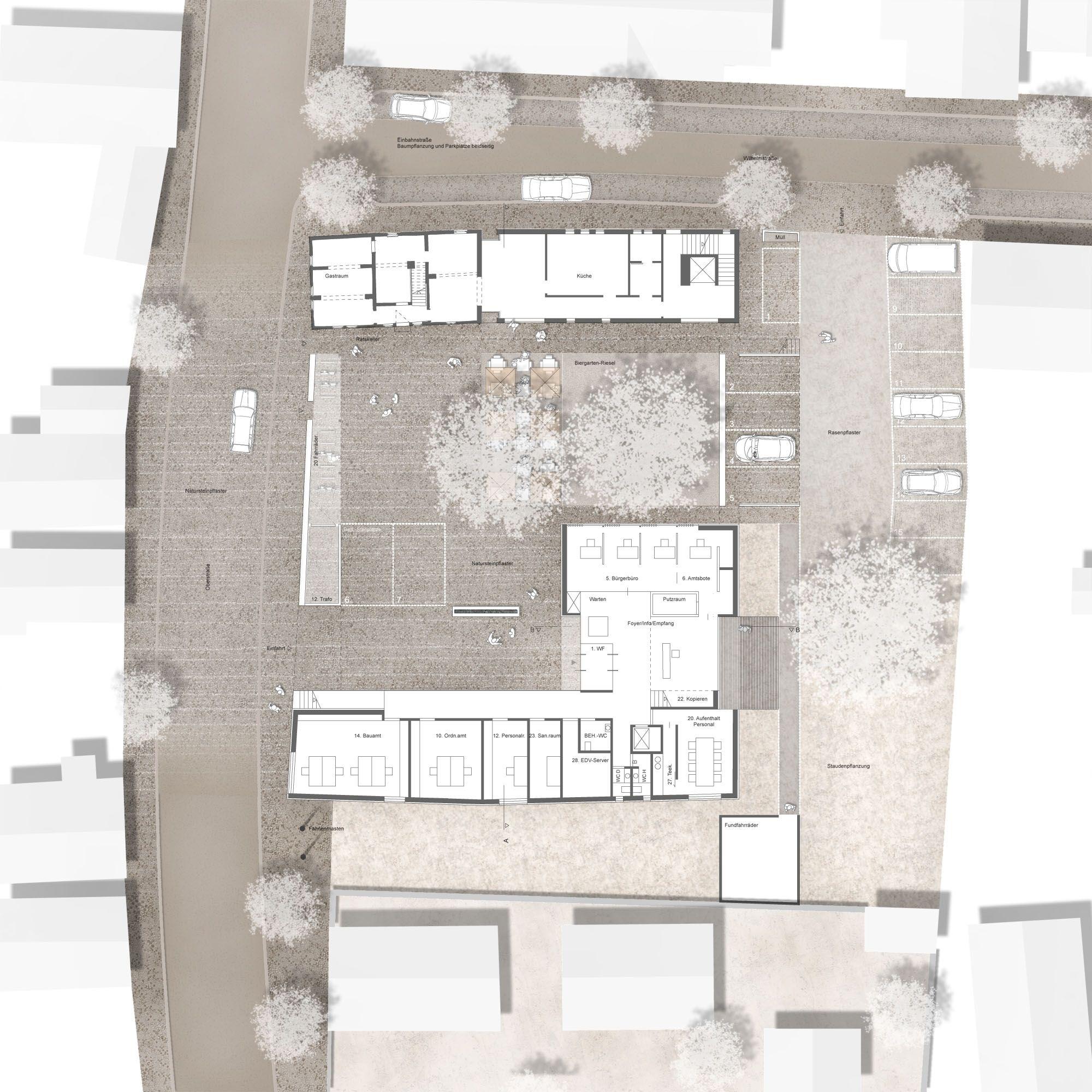 2. Preis #architektonischepräsentation