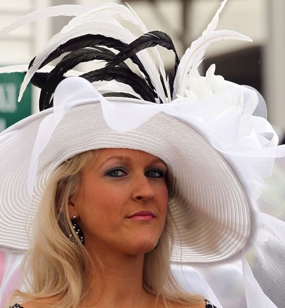 Kentucky Derby Hats - I admit it. I watch the Derby to see the hats (the race is nice, too...)