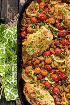 #Recipe : Mediterranean Grilled Chicken Breasts