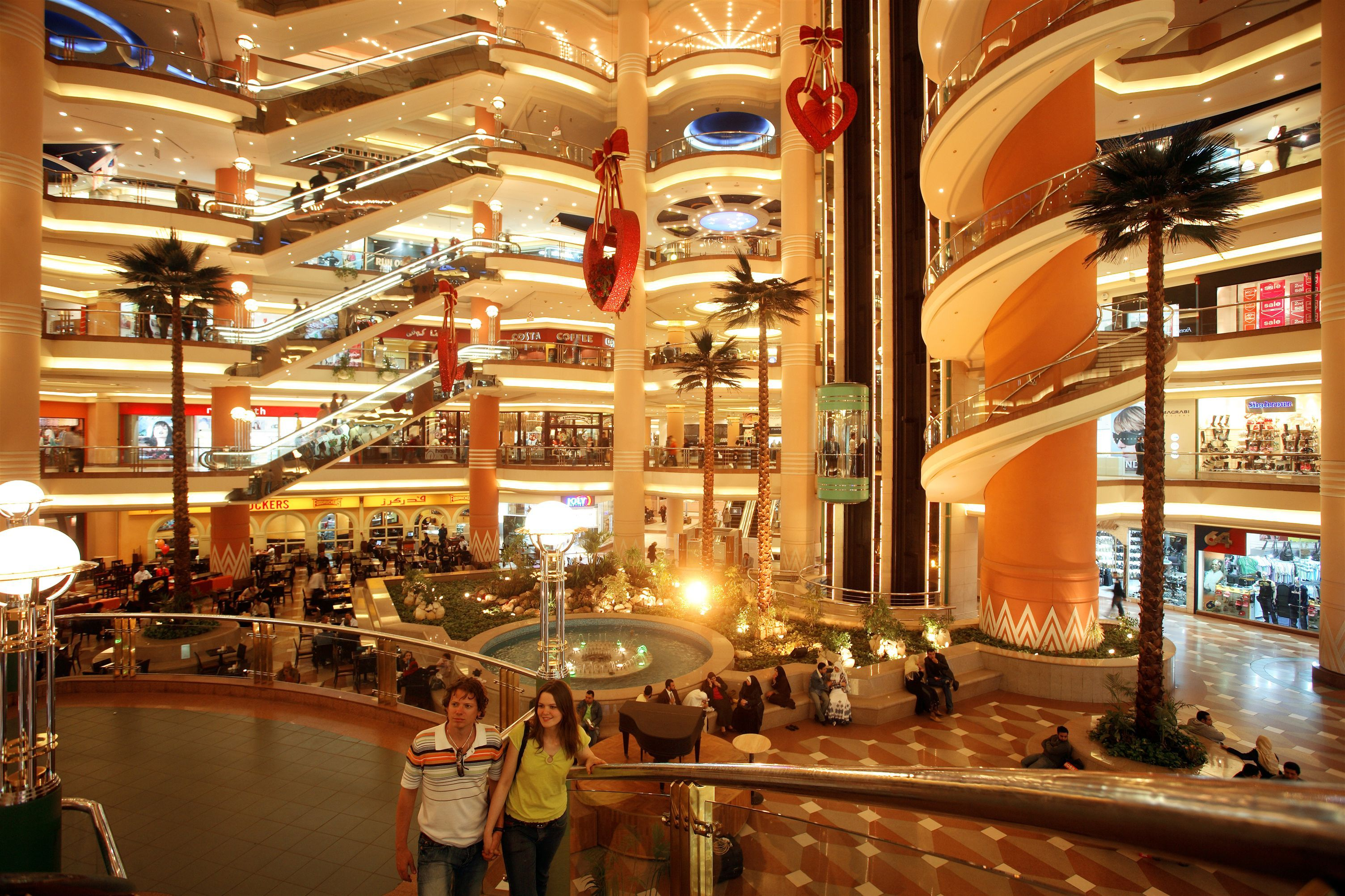 City Stars mall Egypt, Vantage travel