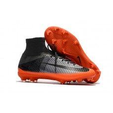 new style 3a7b4 4dbfb Botas De Futbol Nike Mercurial Superfly V CR7 FG Gris Hematita Gris lobo En  Venta