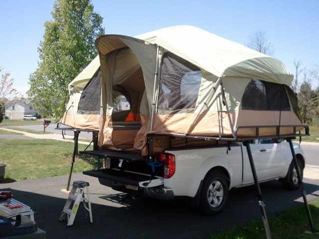 Pickup Truck Tent Campers