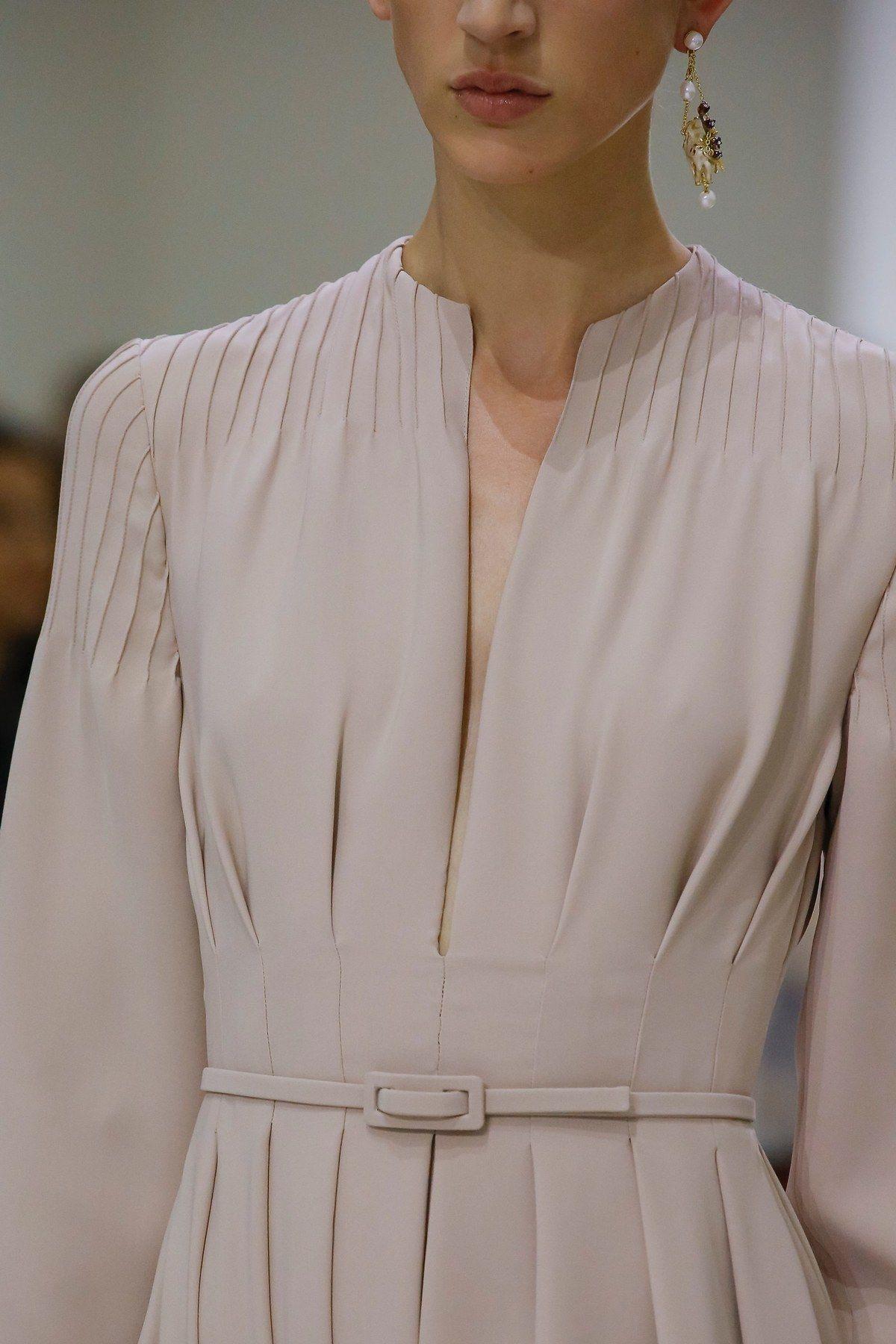 Christian Dior Fall 2018 Couture Fashion Show