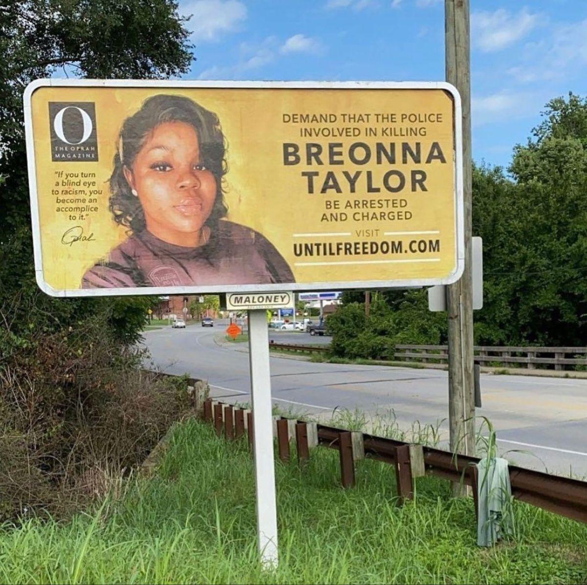 Breonna Taylor In 2020 Say Her Name Oprah Billboard