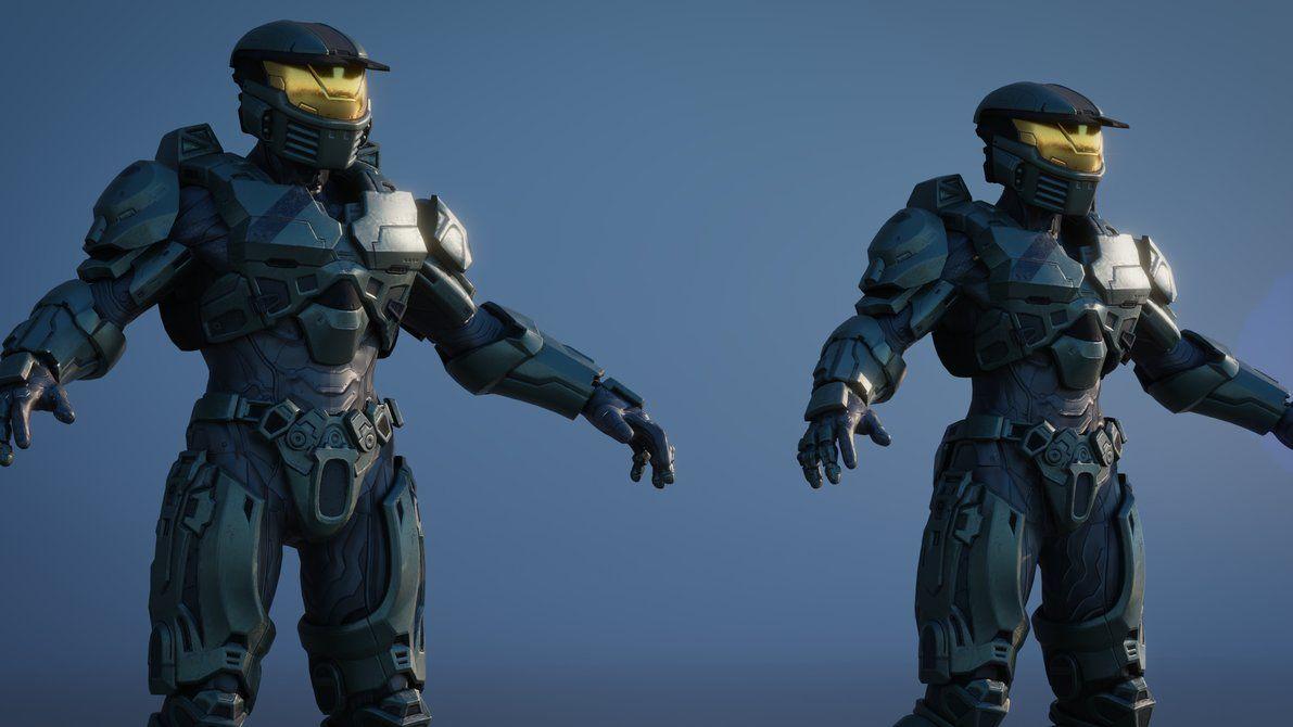 Halo 5 - Mark IV for Blender 2 79+ [V3 2] by GroupTree24