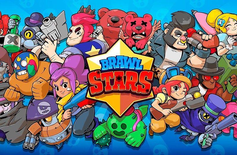 Brawl Stars Heroes Com Imagens Arte De Jogos Imagem De Jogos