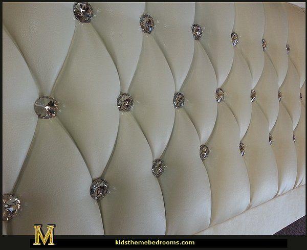 Crystal Diamante Headboards Headboards For Beds Bling Bedroom